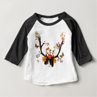 Cat's Horns Baby T-Shirt