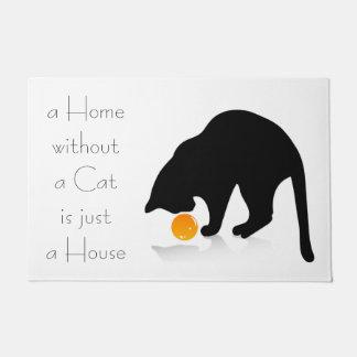 Cats House Doormat