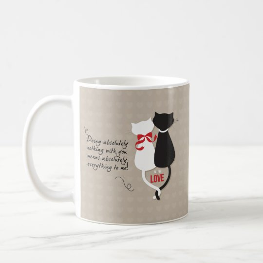 Cats in Love Coffee Mug
