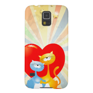 Cats in Love Galaxy S5 Cases