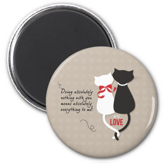 Cats in Love Magnet