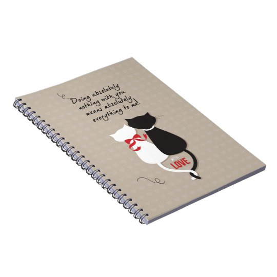 Cats in Love Notebooks