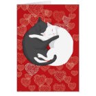 Cats in Love: Paulie & Angie.... Card