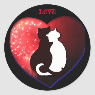 Cats in Love, sticker