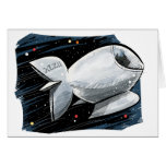 Cats in Space! Greeting Card