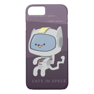 Cats in Space iPhone 7 Case