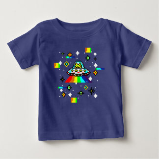 Cats invaders baby T-Shirt