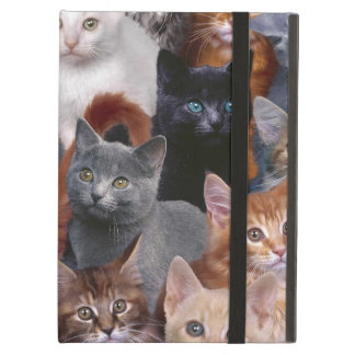 Cats iPad Air Case with No Kickstand