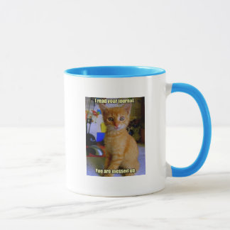 Cats Know All Mug