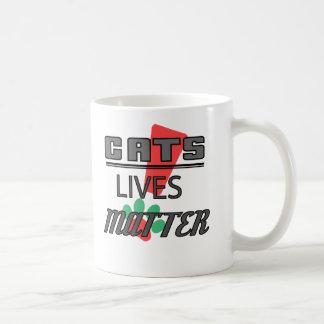 CATS LIVES MATTER! 11 oz. Classice Mug