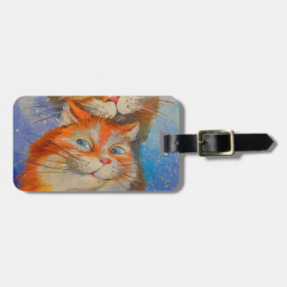 Cats love bag tag