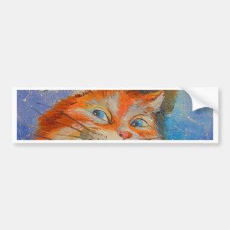 Cats love bumper sticker