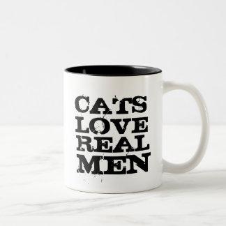 Cats Love Real Men Mug