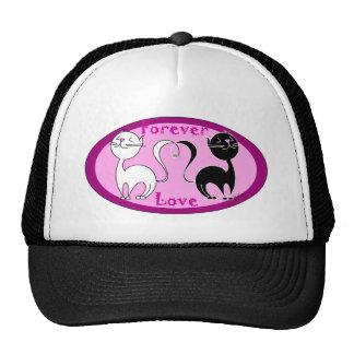 Cats Love Trucker Hat