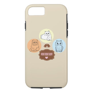 cats meow meow meow Case-Mate iPhone case