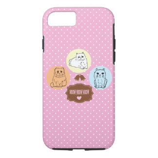 cats meow meow meow iPhone 8/7 case