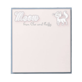 Cat's Meow Notepad