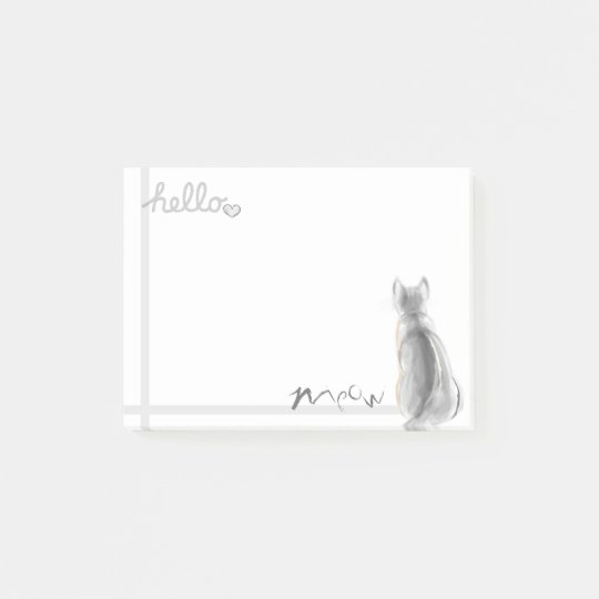 Cat's Meow Post-it Notes