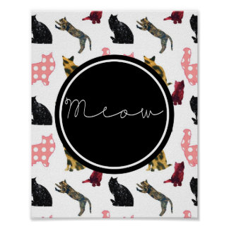 Cats Meow Poster
