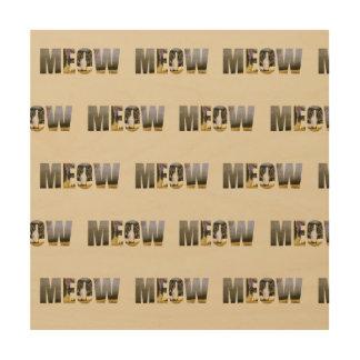 Cat's Meow Wood Wall Art