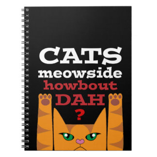 Cats Meowside - Notebook