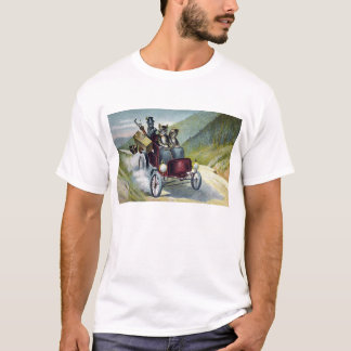 Cats Motoring Through the Catskills T-Shirt