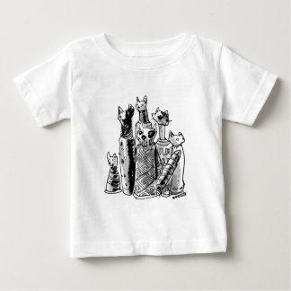 cats_mummies_seffaf baby T-Shirt