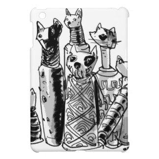 cats_mummies_seffaf case for the iPad mini