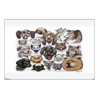 Cats n Dogs Wall Decal