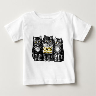Cats Need Love Baby T-Shirt