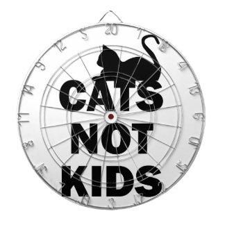 Cats Not Kids Dartboard