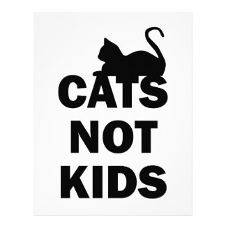 Cats Not Kids Letterhead