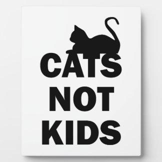 Cats Not Kids Plaque