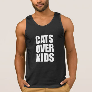Cats Over Kids Funny Quote