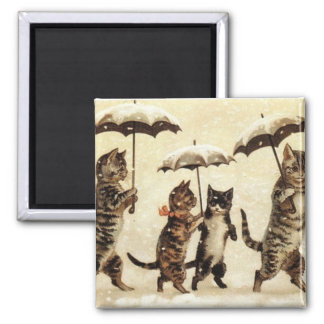 Cats parade magnet