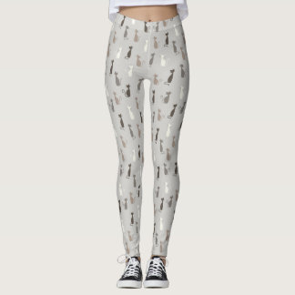 Cats pattern leggings