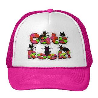 Cats Rock--Cat lovers gifts Trucker Hat