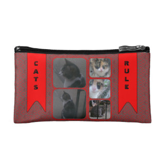 Cats Rule Makeup Bag