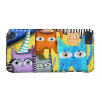 Cats Rupydetequila Art iPod Touch (5th Generation) Cases