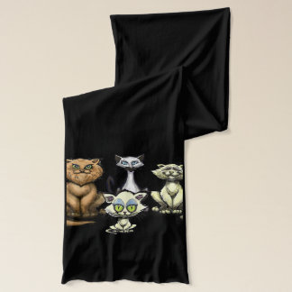 Cats Scarf