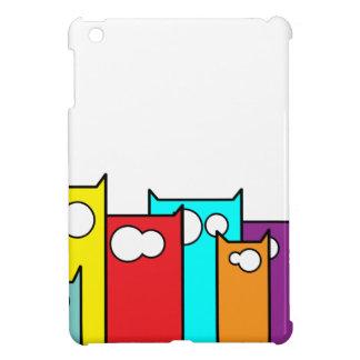 cats town iPad mini cover