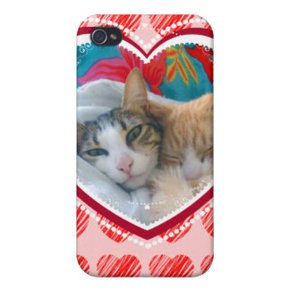 Cats Valentine 2 4 Case For iPhone 4
