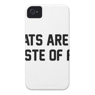 Cats Waste of Fur iPhone 4 Case