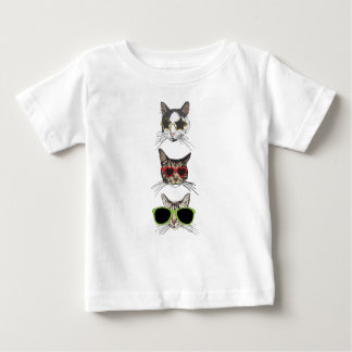 Cats Wearing Sunglasses Baby T-Shirt