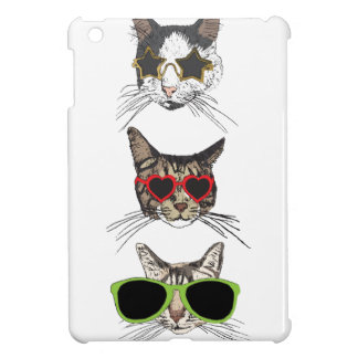 Cats Wearing Sunglasses iPad Mini Cases