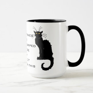 Cats Worshiped as Gods; They Have Not Forgotten Mug