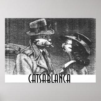 CATSABLANCA POSTER