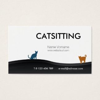 catsitting business card