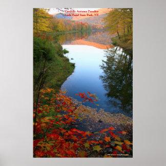 Catskills Autumn Paradise Poster