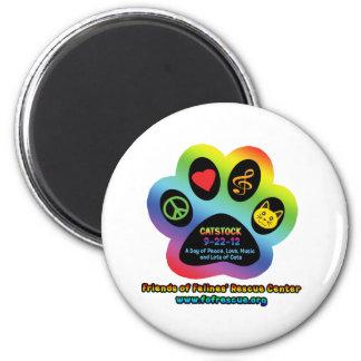 Catstock 2012 magnet
